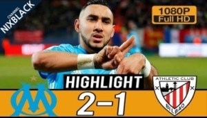 Video: Olympique Marseille 2-1 Athletic Bilbao All goals & Highlights Commentary (15/03/2018) HD/1080P